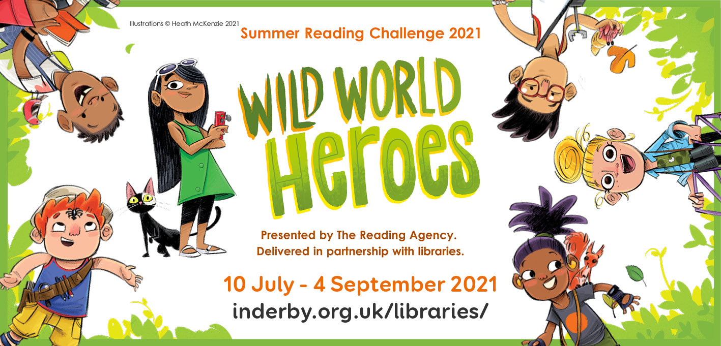 Summer Reading Challenge 2021 - Derby Days Out