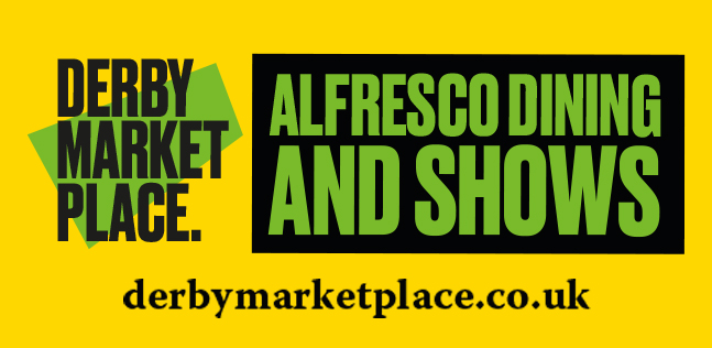 Derby Market Place - Alfresco Dining throughout the summer months & six weeks holiday! - Derby Days Out