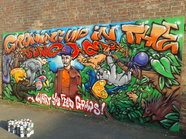 Grafitti Workshop: Baby People - Derby Days Out