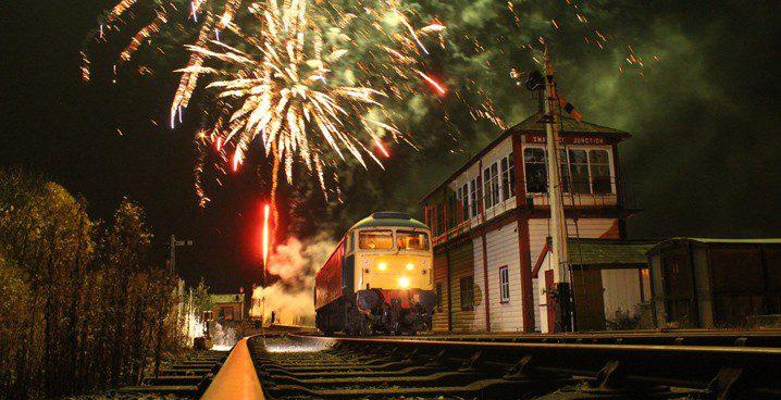 Fireworks Night at Midland Railway - Derby Days Out