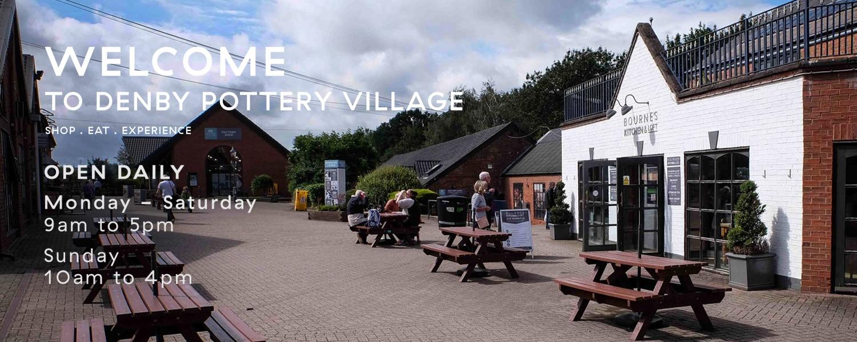 Denby Pottery Village - Derby Days Out