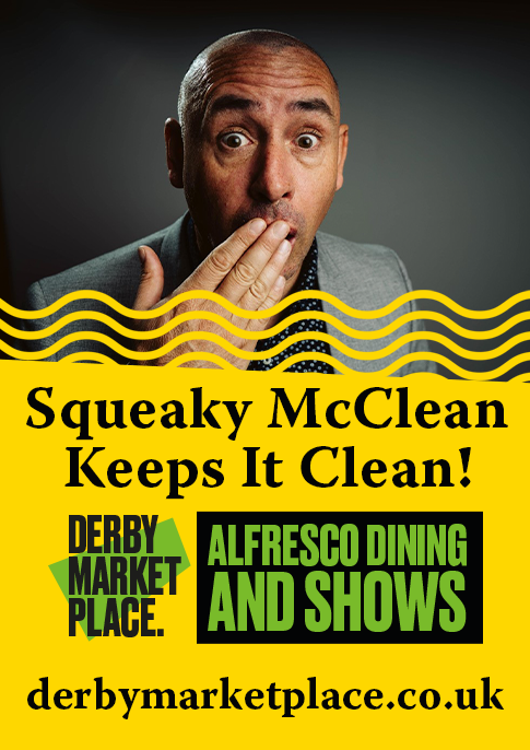 Squeaky McClean Keeps It Clean! - Derby Days Out