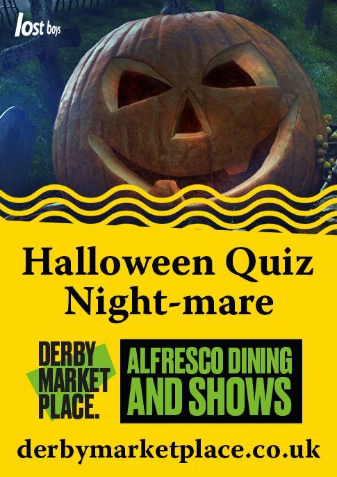 Halloween Quiz Night-mare - Derby Days Out