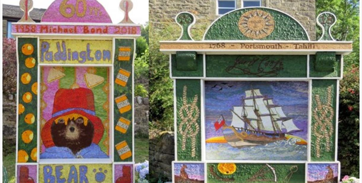 Eyam Well Dressings - Derby Days Out