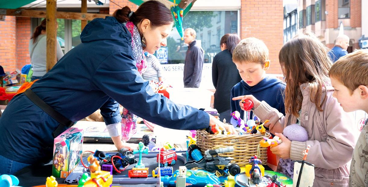 Chesterfield Young Person's Market - Derby Days Out