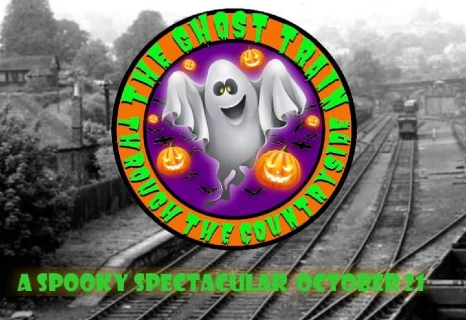 The Ghost Train Through the Countryside - Derby Days Out