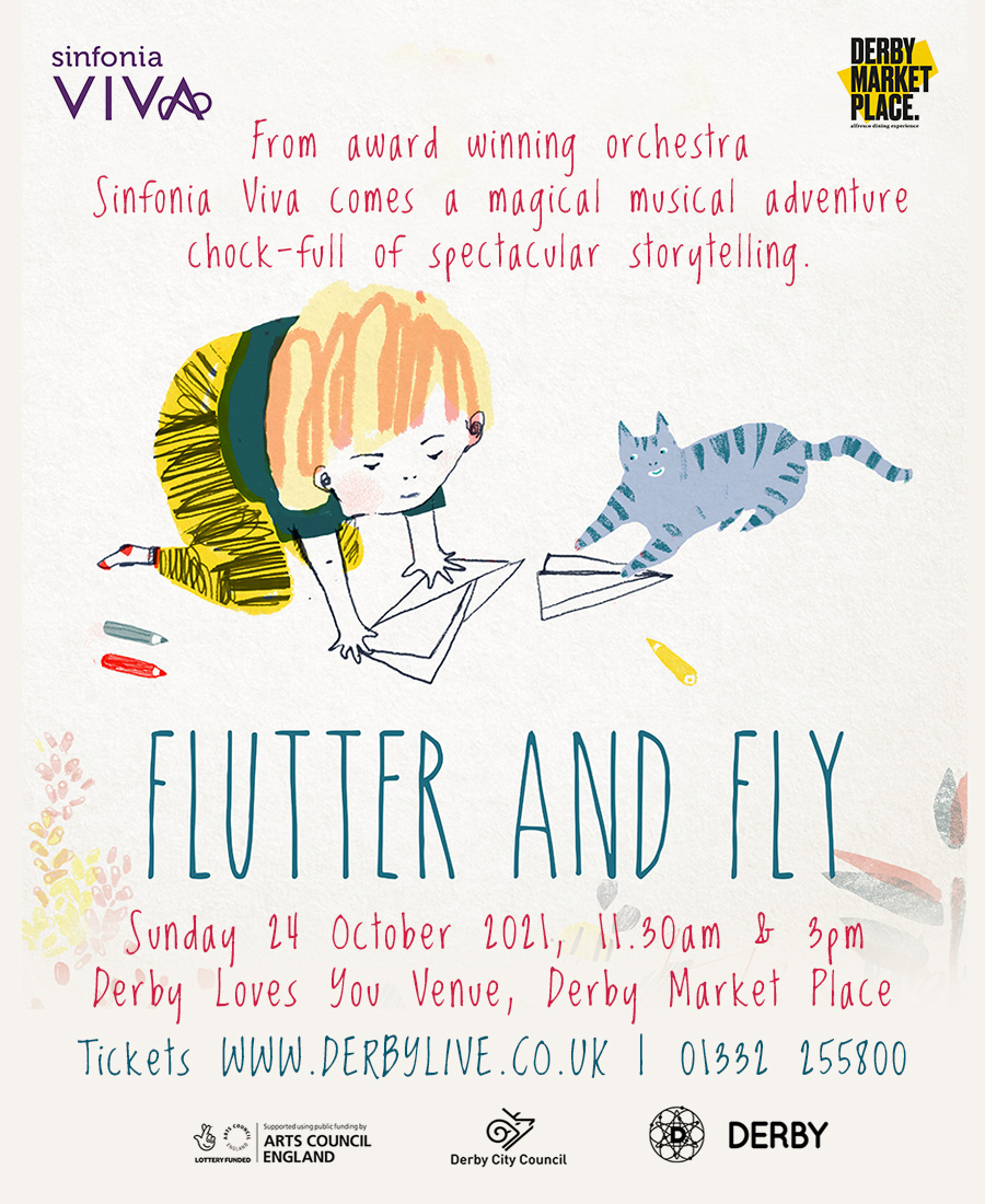 Sinfonia Viva Flutter and Fly - Derby Days Out